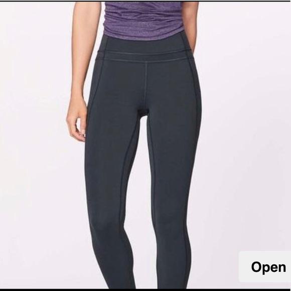 84e71a4725e7b lululemon athletica Pants | Lululemon Pushing Limits Size 6 Leggings ...